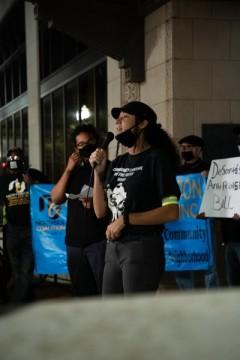 Post election protest in Jacksonville, FL