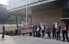 LA protest demands justice for Jesse Romero.