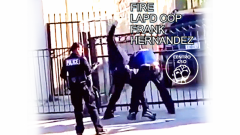 LAPD cop caught on video brutalizing Chicano