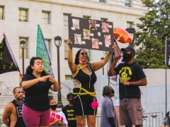Black Lives Matters protest demands justice for Dijon Kizzee.