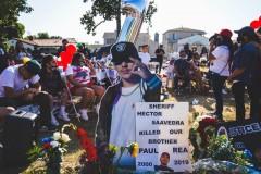 East Los Angeles vigil honors Paul Rea