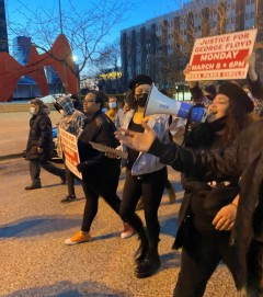 March demands justice for George Floyd in Grand Rapids, MI.