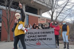 Milwaukee SDS demands community control of police.