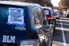 Car caravan demands drop charges vs those arrested in Nov 4 protest