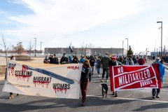 Minnesota protest demands an end to war on immigrants.