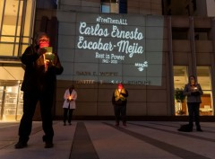 Vigil honors Carlos Ernesto Escobar-Mejia who died of COVID-19 in ICE detention