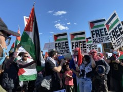 Twin Cities protest against war on Palestine.