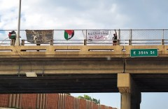 Minneapolis protest against the U.S backed occupation of Palestine.