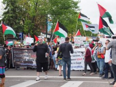 Huge Minneapolis march for Palestine.