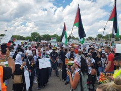 Nakba Day is marked in Minnesota, more thnt 2000 stand with Palestine.