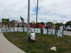 Solidarity with Bradley Manning, Tampa, Florida