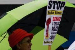 Protest outside the office of Alderman Ariel Reboyras