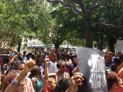 Marching for justice in Jacksonville.