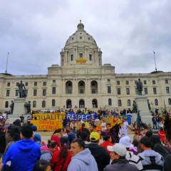 May 1 demonstration at Minnesota State Capitol