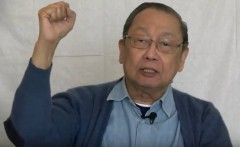 Jose Maria Sison, Chairperson, International League of Peoples´ Struggle.