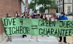 Northside march puts demands on WE Energies.