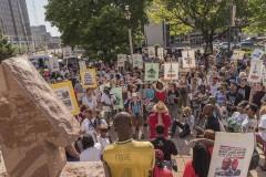 Milwaukee rally against police terror.