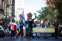 2019 Trans March of Resilience in New Orleans.