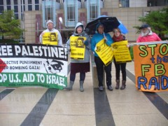Minneapolis protesters demand freedom for Palestine, drop charges against Rasmea