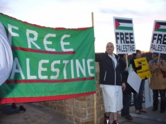 Twin Cities protest against attack on Gaza.