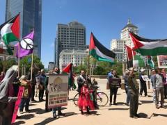 Milwaukee protests visit by Israeli ambassador Ron Dermer.