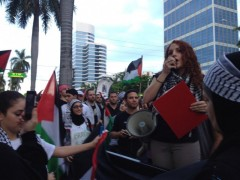 Cassia Laham of POWIR (People's Opposition to War, Imperialism, and Racism)