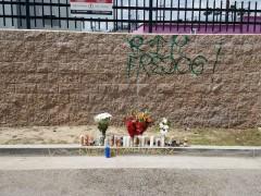 Memorial to Fred Barragan.
