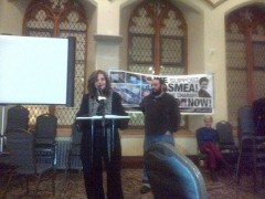 Rasmea Odeh receives award at People's Thanksgiving