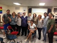 At the Rasmea solidarity event in Albuquerque, New Mexico