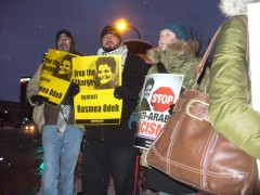 Minneapolis protest demands freedom for Rasmea Odeh