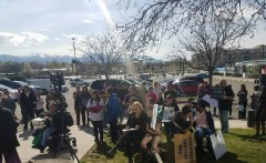West Valley City, UT rally demand justice for Elijah Smith.