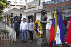 "Ceremony marking the 90th anniversary of Sandino's ""Plan to Realize..."""