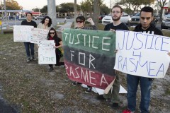 Tampa protest demands justice for Rasmea Odeh.