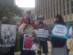 Moms of the three Somali youth defendants demand freedom for their sons