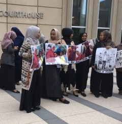 Rally supporting Somali youth entrapped by FBI