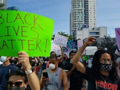 South Florida march against police crimes.