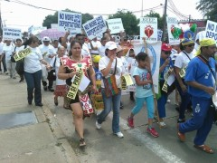 May Day march in Houston demands worker and immigrant rights