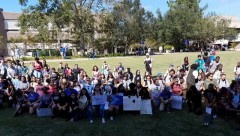 UNF SDS takes a knee for Black lives.