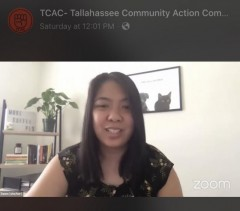 TCAC member Dawn Orocio moderates online candidate forum