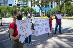 Tampa protest demands justice for George Floyd.