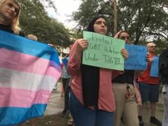 Tampa SDS demands Supreme Court uphold LGBT job rights.