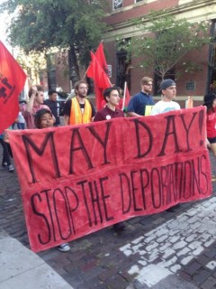 Tampa May Day protest demands no deportations for the undocumented