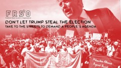 Don't let Trump steal the election! Take to the streets to demand a people's age