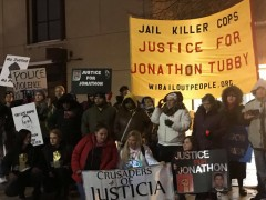 Green Bay, WI protest demands justice for Jonathon Tubby