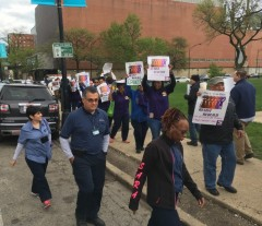 UIC workers are demanding measures to keep them safer.