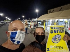 Utah Teamsters petition for the O'Brien-Zuckerman leadership slate accreditation