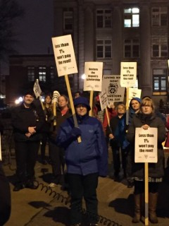 University of Minnesota workers rally for raises and respect