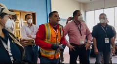 International election observers stuck at airport weh Colombia forbids use of ai