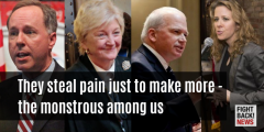 They steal pain just to make more - the monstrous among us