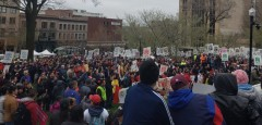 May Day in Madison,WI.